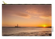 Sunrise At St Mary's Lighthouse Carry-all Pouch
