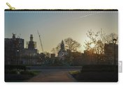 Sunrise At Swann Fountain Carry-all Pouch