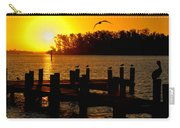 Sunrise At The Boat Launch  Carry-all Pouch