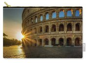 Sunrise At The Colosseum Carry-all Pouch