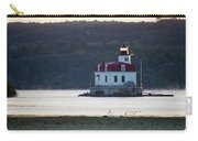 Sunrise At The Esopus Lighthouse Carry-all Pouch