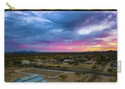 Sunrise At The Horse Barn Carry-all Pouch