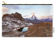 Sunrise At The Matterhorn Mountain Area Carry-all Pouch