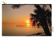 Sunrise At The Pier Carry-all Pouch