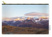 Sunrise At The Swiss Alps Carry-all Pouch