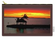 Sunrise At The Tiki Hut Carry-all Pouch