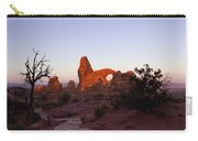 Sunrise At Tower Arch Carry-all Pouch