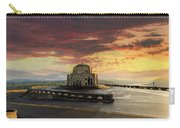Sunrise At Vista House On Crown Point Carry-all Pouch