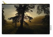 Sunrise Behind Elm Tree Carry-all Pouch