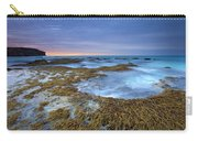 Sunrise Beneath The Storm Carry-all Pouch by Mike  Dawson