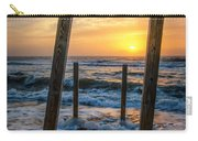 Sunrise Between The Pillars Landscape Photograph Carry-all Pouch