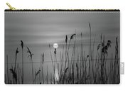 Sunrise Black And White  Carry-all Pouch