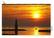 Sunrise Brushstrokes Carry-all Pouch