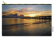 Sunrise Fort Clinch Pier Carry-all Pouch