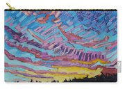 Sunrise Freezing Rain Deformation Zone Carry-all Pouch by Phil Chadwick