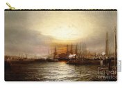 Sunrise From Chapman Dock And Old Brooklyn Navy Yard, East River, New York Carry-all Pouch