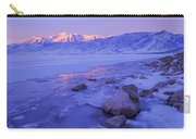 Sunrise Ice Reflection Carry-all Pouch by Chad Dutson