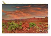 Sunrise In Capitol Reef National Park Utah Carry-all Pouch