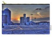 Sunrise In Detroit Mi Carry-all Pouch by Nicholas  Grunas