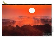 Sunrise In Hocking State Forest Carry-all Pouch