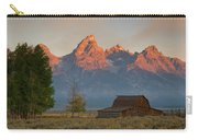 Sunrise In Jackson Hole Carry-all Pouch