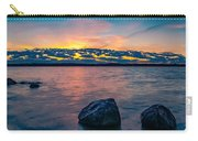 Sunrise In Motion Carry-all Pouch