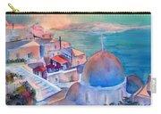 Sunrise In Oia Santorini Greece Carry-all Pouch