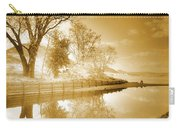 Sunrise In Sepia Carry-all Pouch