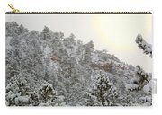 Sunrise In Snowstorm In The Pike National Forest Carry-all Pouch