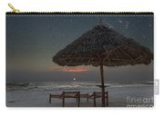 Sunrise In Tropical Beach Of Zanzibar With Starry Sky Carry-all Pouch