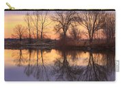 Sunrise Lake Reflections Carry-all Pouch