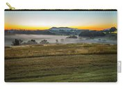 Sunrise Landscape Over Morganton Town In  North Carolina  Carry-all Pouch