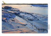 Sunrise Light On The Ice  Carry-all Pouch