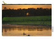Sunrise On A Gettysburg Duck Pond Carry-all Pouch