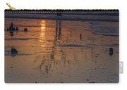 Sunrise On Boneyard Beach Carry-all Pouch