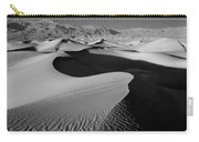 2a6856-bw-sunrise On Death Valley  Carry-all Pouch