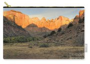 Towers Of The Virgin At Sunrise Carry-all Pouch