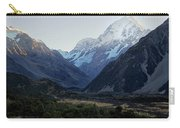 Sunrise On Mt. Cook Carry-all Pouch