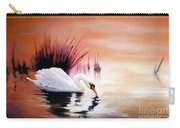 Sunrise On Swan Lake Carry-all Pouch