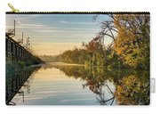 Sunrise On The Canal Carry-all Pouch