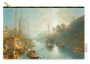 Sunrise On The Grand Canal Carry-all Pouch