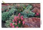 Sunrise On The Minarets Eastern Sierras California Carry-all Pouch