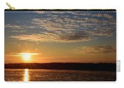 Sunrise On The Mississippi Carry-all Pouch