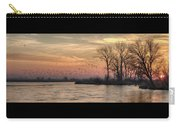 Sunrise On The Platte Carry-all Pouch