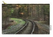 Sunrise On The Rails Carry-all Pouch