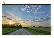 Sunrise On The Road Carry-all Pouch