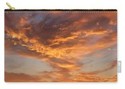 Sunrise Orange Sky, Willamette National Forest, Oregon Carry-all Pouch