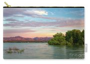 Sunrise Over A Colorado Lake  Carry-all Pouch