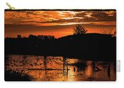 Sunrise Over A Pond Carry-all Pouch