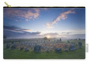 Sunrise Over Beaghmore Stone Circles Carry-all Pouch